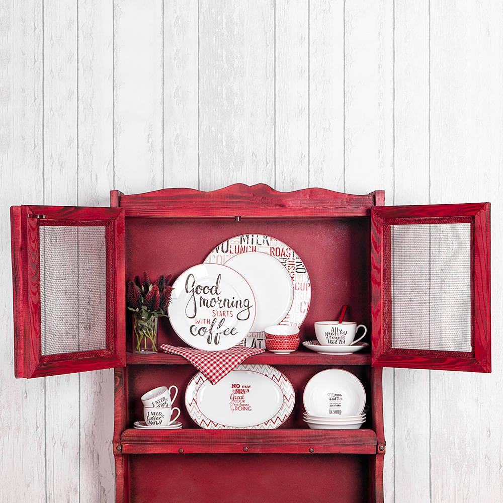 Rhoda 4 Parça Yuvarlak Porselen Tatlı Tabağı Takımı – 20 cm