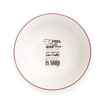 - Rhoda Yuvarlak Porselen Çorba Kasesi – 17 cm