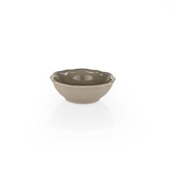 Rodin 6 Kişilik 24 Parça Stoneware Yemek Takımı - Kahverengi - Thumbnail