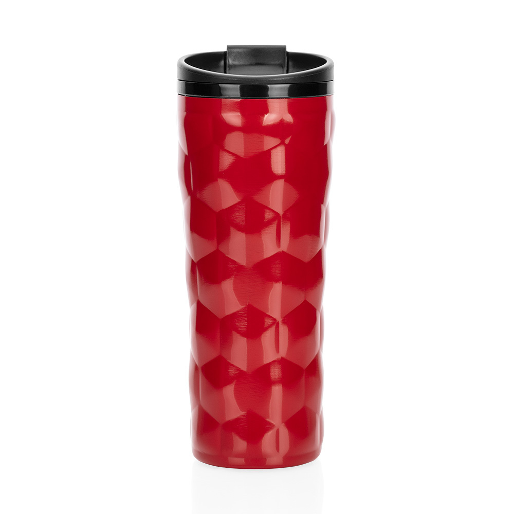 Roku Çelik İç Kaplamalı Kırmızı El Termosu – 450 ml