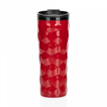 - Roku Çelik İç Kaplamalı Kırmızı El Termosu – 450 ml