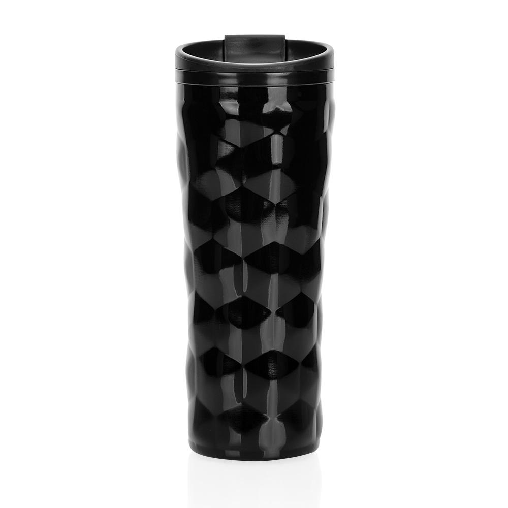 Roku Çelik İç Kaplamalı Siyah El Termosu – 450 ml