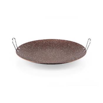 - Rosin Bronz Kahve Granit Sac Tavası - 30 cm