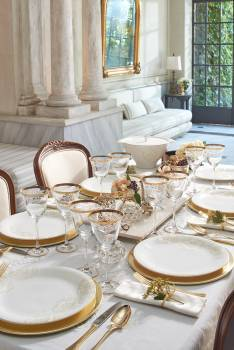 Royal Baroque 70 Parça Yemek Takımı - Thumbnail
