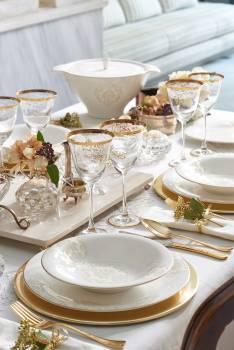 - Bernardo Royal Baroque Yemek Takımı