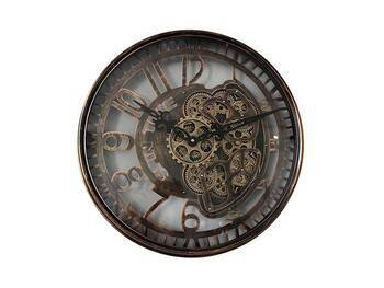 MonDecor - Çarklı Duvar Saati 54 cm