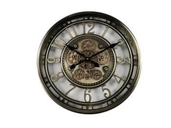 MonDecor - Çarklı Duvar Saati - 55 cm