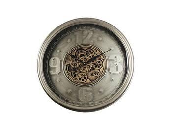 MonDecor - Çarklı Duvar Saati - 70 cm