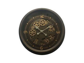 MonDecor - Çarklı Duvar Saati - 53 cm
