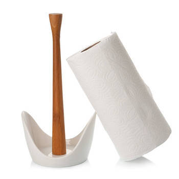Biev - Sasha Rulo Peçetelik - Porselen & Bambu