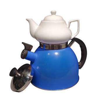 Biev - Sea Düdüklü Çaydanlık – Mavi
