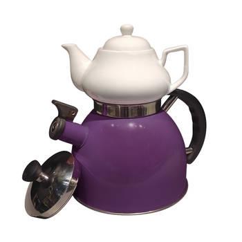 Biev - Sea Düdüklü Çaydanlık - Mor