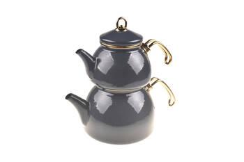 - Şehzade Çaydanlık Takımı - Gri Bambum