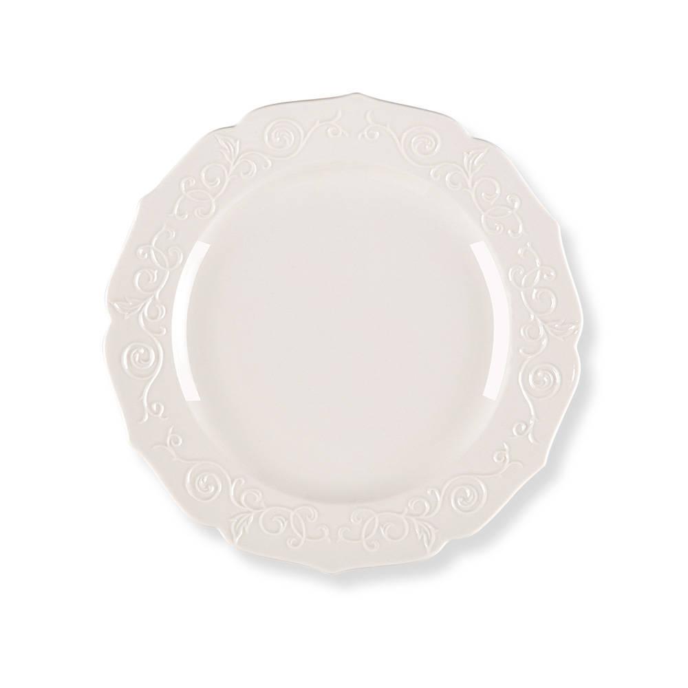Servis Tabağı-Beyaz