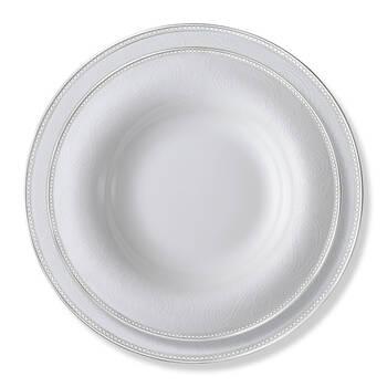 Silver Paisley 12 Kişilik 100 Parça Yemek Takımı - Thumbnail