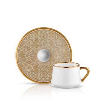 - Sufi 6'lı Kahve Fincan Takımı