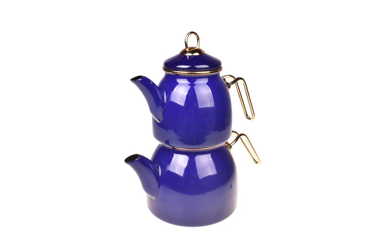 Sultan Çaydanlık Takımı - Lacivert Bambum