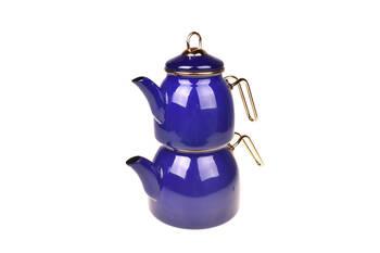 - Sultan Çaydanlık Takımı - Lacivert Bambum
