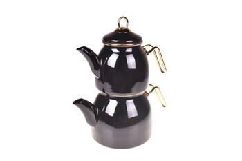 - Sultan Çaydanlık Takımı - Siyah Bambum
