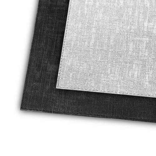 Supla Gümüş- Siyah Kare