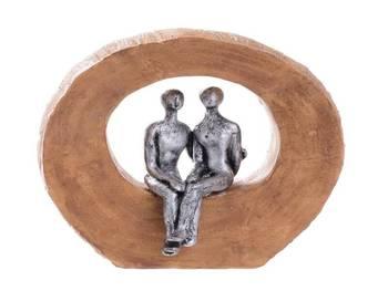 Biev - Tablo Gümüş 13,4x5,5x14 cm