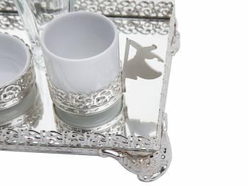 - Tekli Silver Kahve Seti (1)