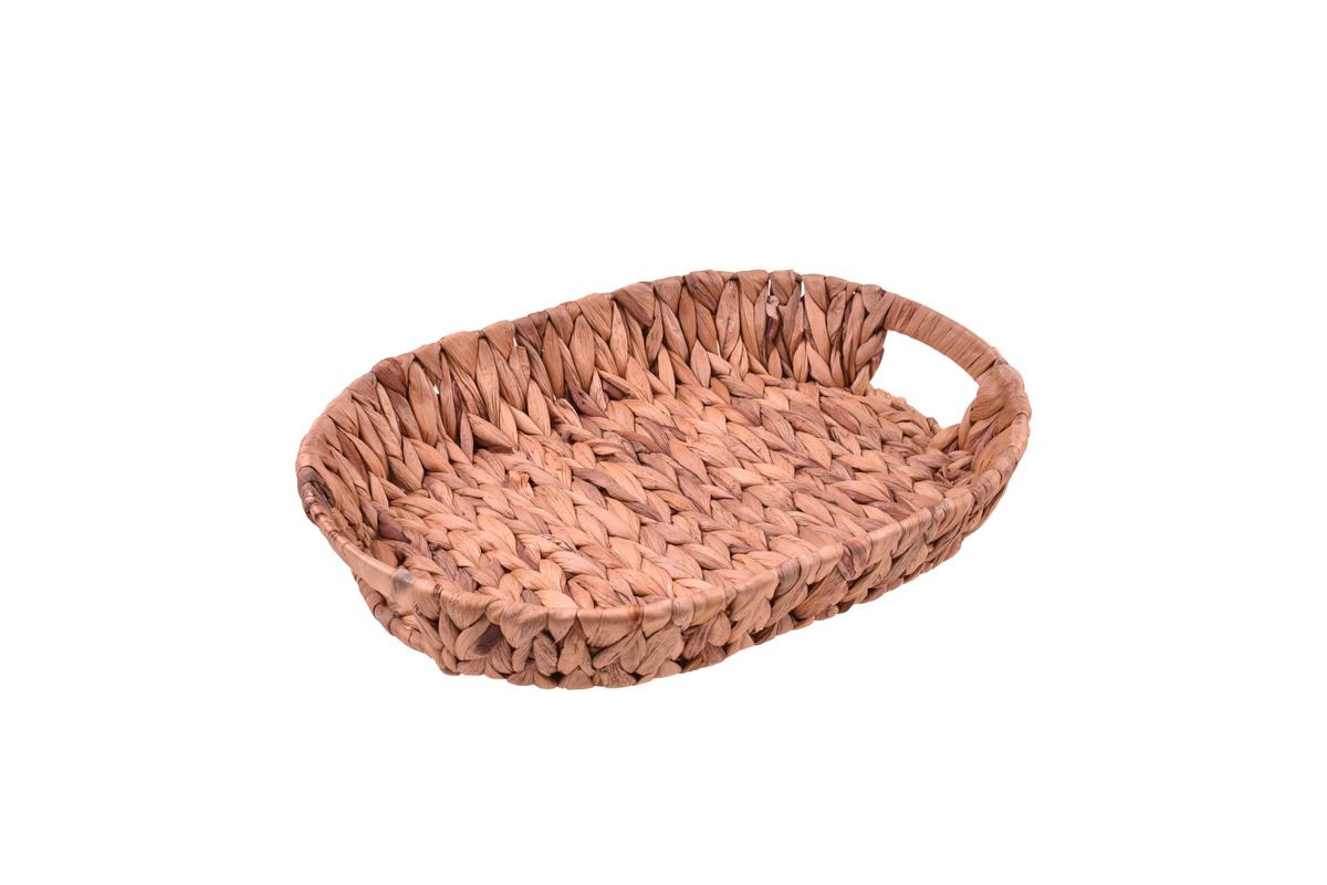 Tenen Hasır Tepsi Oval 34 cm Bambum