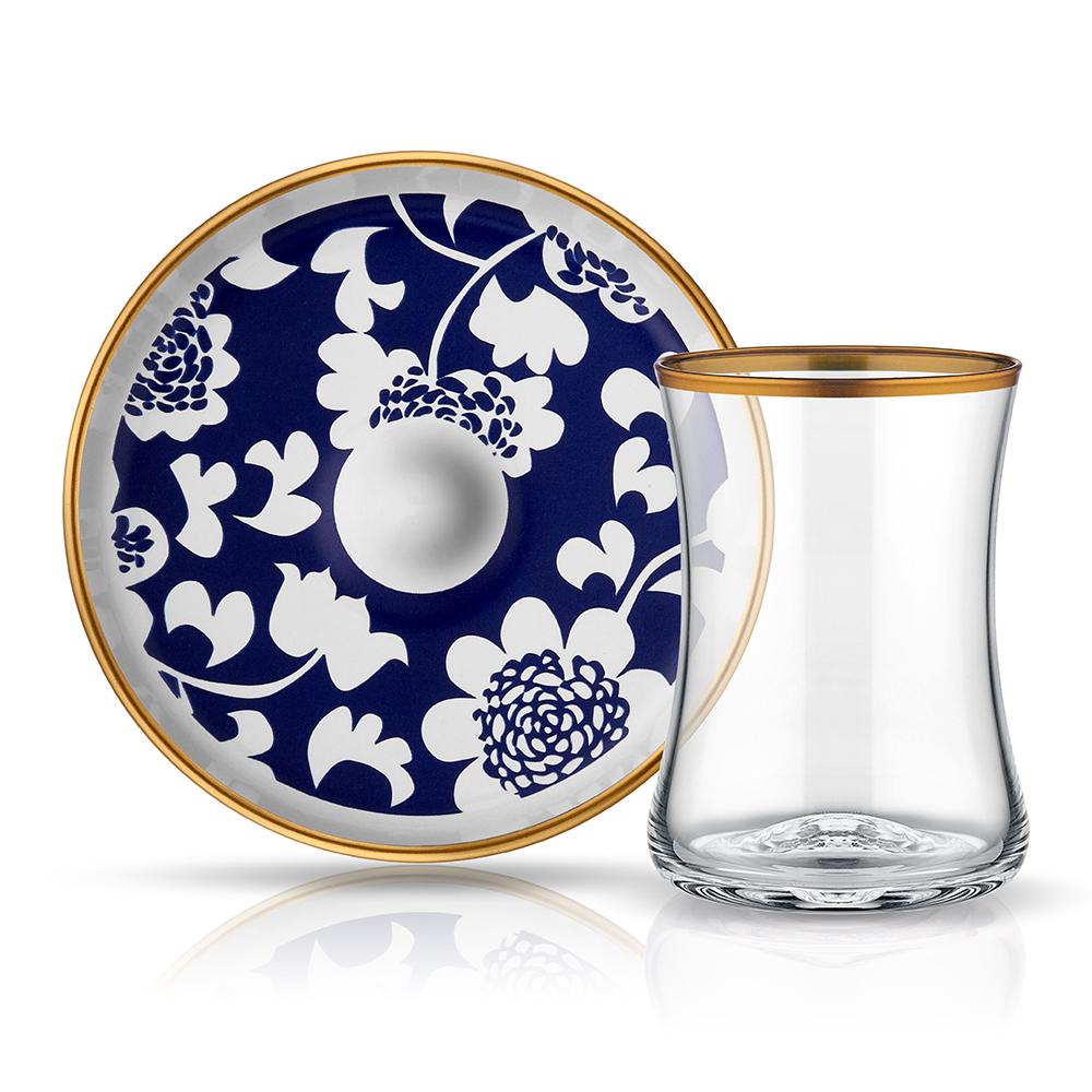 Tiryaki 6'Lı Çay Seti-Gün