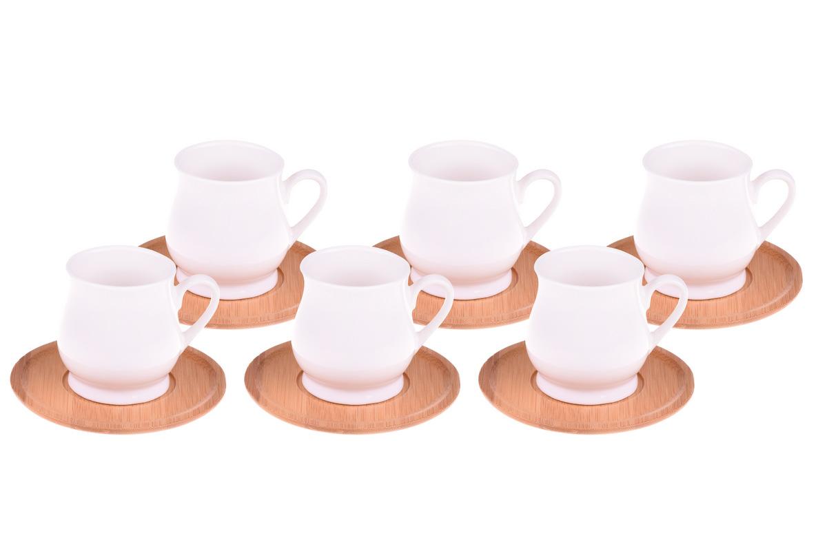 Tulli 6 Kişilik Kahve Fincan Takımı Bambum