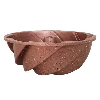 Bernardo - Twist Granit Rose Kek Kalıbı - 24 cm (1)