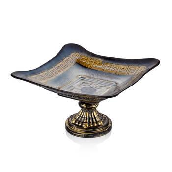 Biev - Versace Ayaklı Servis Tabağı - 30 cm