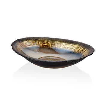 Biev - Versace Oval Servis Tabağı - 32 cm