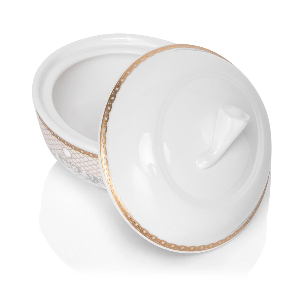 Victorian Lace Gold 12 Kişilik 29 Parça Royal Bone China Çay Seti