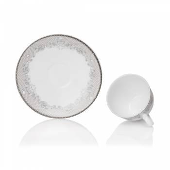 - Victorian Lace Platin 29 Parça Çay Takımı (1)