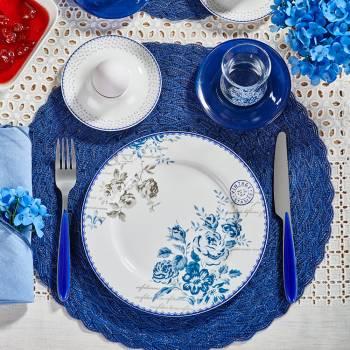 - Vintage Blue 33 Parça Kahvaltı Takımı (1)