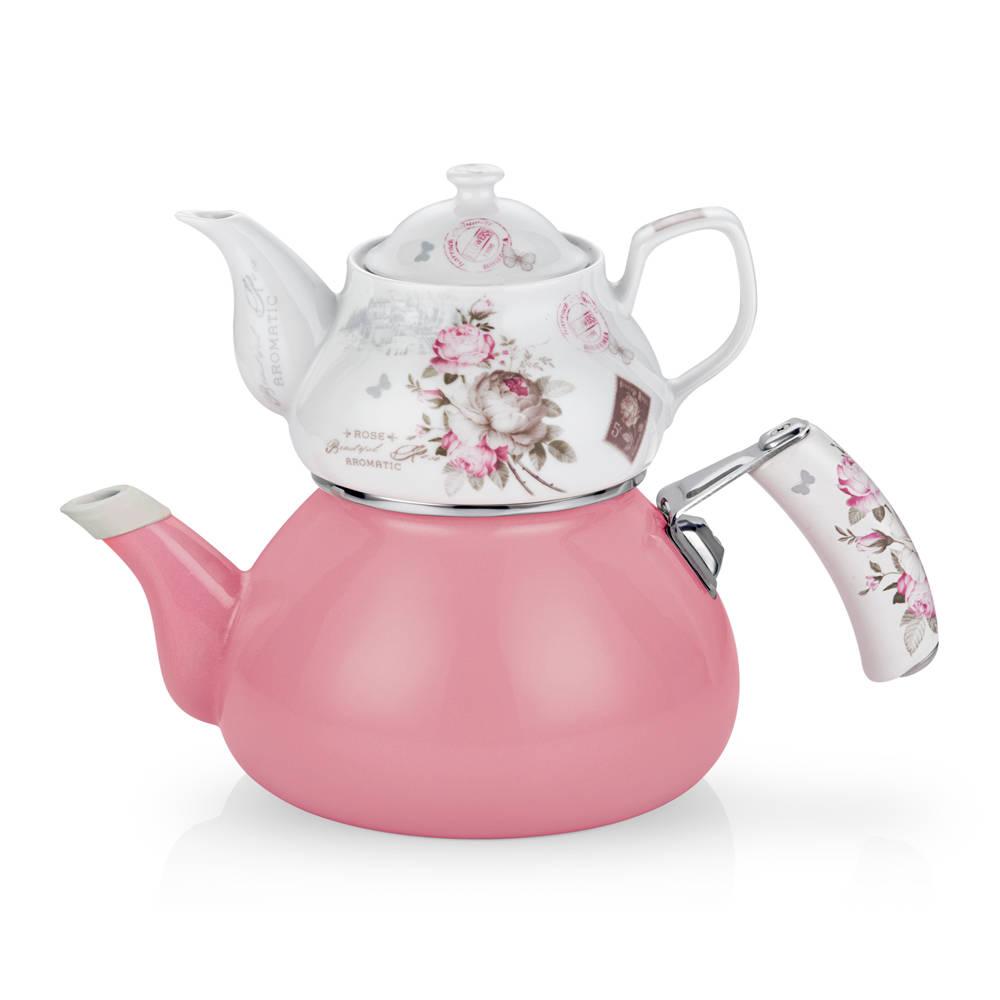 Bernardo Vintage Rose Çaydanlık