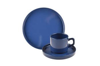 - Wally 18 Parça Pasta Seti - Mavi Bambum (1)