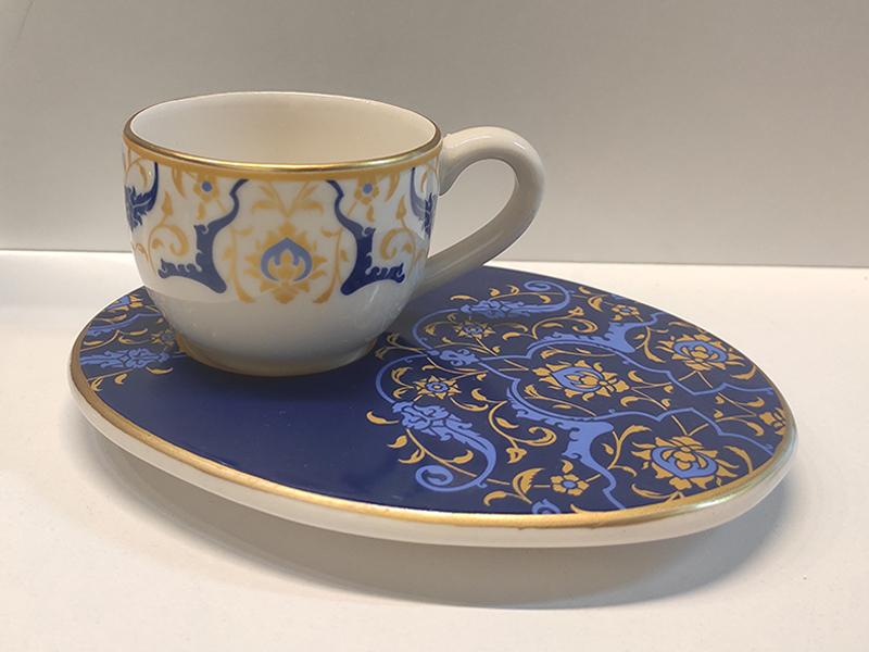 Wındsor Blue 6'lı Kahve Fincan Takımı