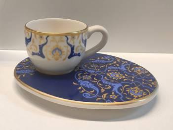 - Wındsor Blue 6'lı Kahve Fincan Takımı