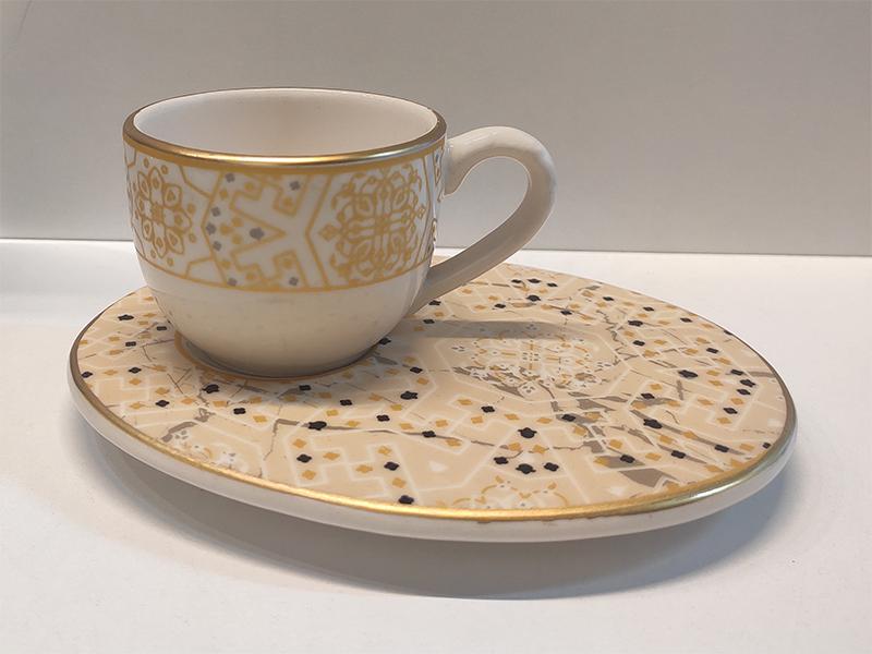 Wındsor Lıght Grey 6'lı Kahve Fincan Takımı