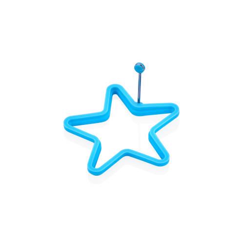 Mavi Yıldız Yumurta Kalıbı
