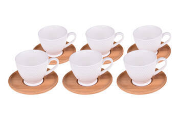 - Yola 6 Kişilik Kahve Fincan Takımı
