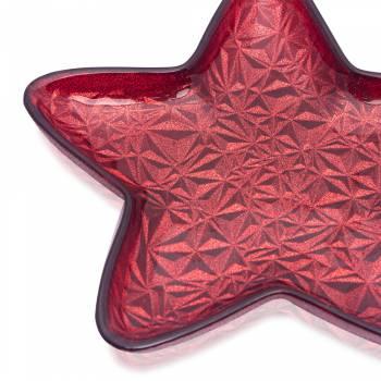 - Zega 20 Cm Yıldız Tabak Kırmızı (1)